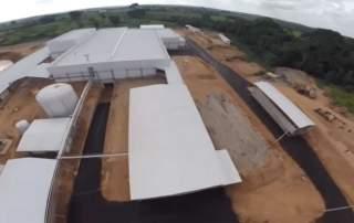 Obras das obras da indústria da Dom Porquito em Brasiléia, Acre